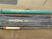 W.W. GRIGG FLY FISHING ROD GX904-5 - 4 PIECE FLY ROD, 9 FT. - WITH CASE
